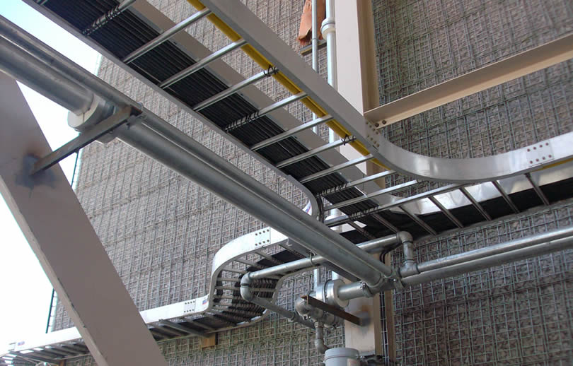Ladder Cable Tray With Rails And Large Space Rungs