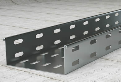 Perforated Cable Trays Position And Ventilate Cable Lines